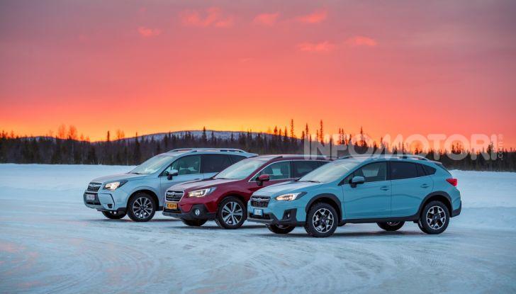 Gamma Subaru provata su strada e neve in Finlandia - Foto 4 di 28