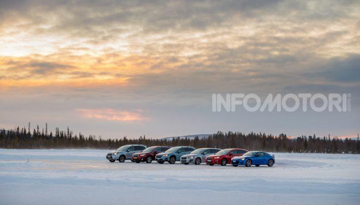 Gamma Subaru provata su strada e neve in Finlandia - Foto 5 di 28