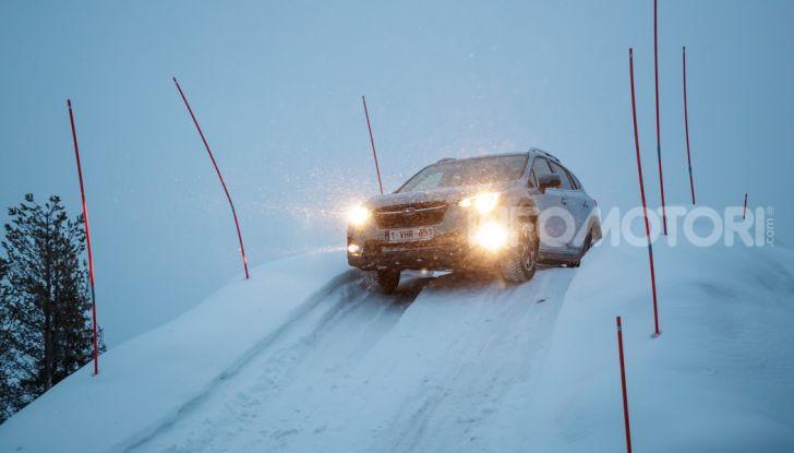 Gamma Subaru provata su strada e neve in Finlandia - Foto 25 di 28
