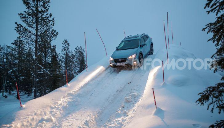 Gamma Subaru provata su strada e neve in Finlandia - Foto 26 di 28