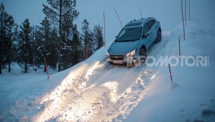 Gamma Subaru provata su strada e neve in Finlandia - Foto 27 di 28