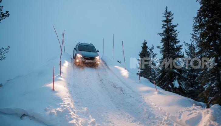 Gamma Subaru provata su strada e neve in Finlandia - Foto 28 di 28