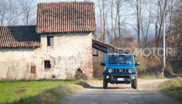 Prova Suzuki Jimny: 8 motivi per cui sarà un grande successo - Foto 5 di 43