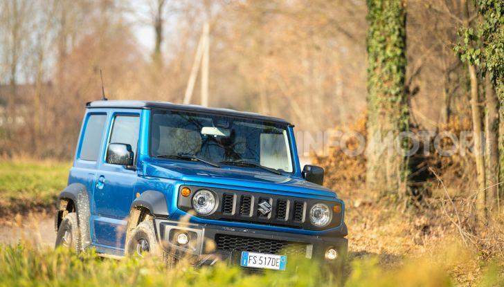 Prova Suzuki Jimny: 8 motivi per cui sarà un grande successo - Foto 30 di 43