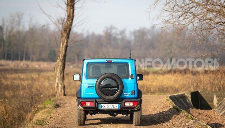 Prova Suzuki Jimny: 8 motivi per cui sarà un grande successo - Foto 31 di 43