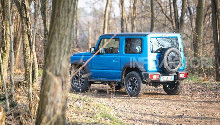 Prova Suzuki Jimny: 8 motivi per cui sarà un grande successo - Foto 32 di 43