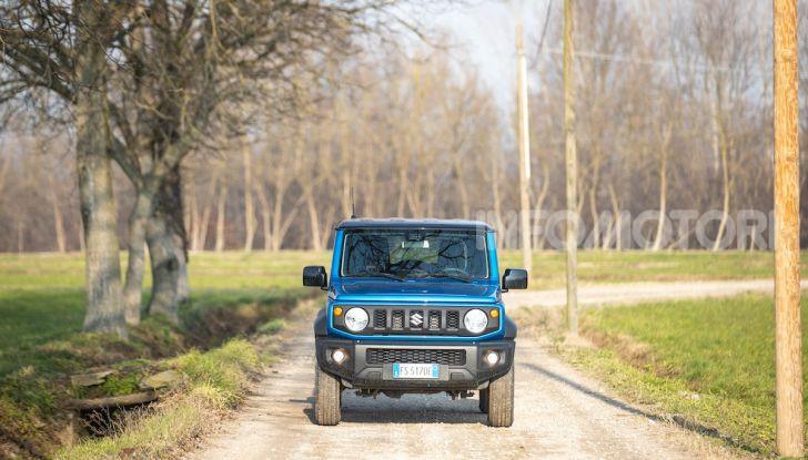 Prova Suzuki Jimny: 8 motivi per cui sarà un grande successo - Foto 26 di 43