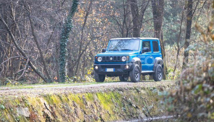 Prova Suzuki Jimny: 8 motivi per cui sarà un grande successo - Foto 6 di 43