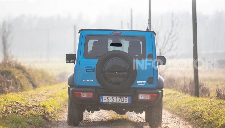 Prova Suzuki Jimny: 8 motivi per cui sarà un grande successo - Foto 34 di 43