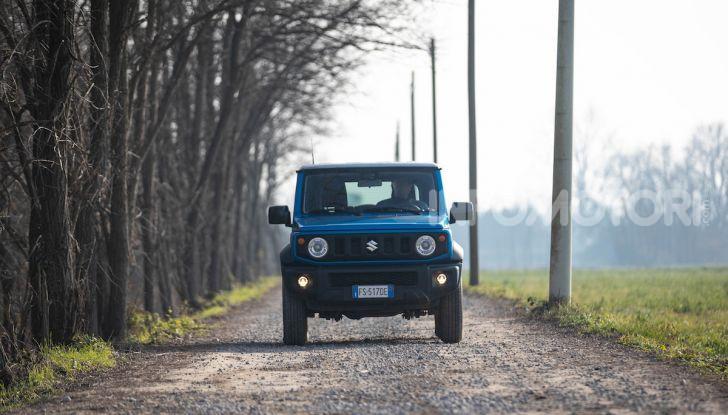 Prova Suzuki Jimny: 8 motivi per cui sarà un grande successo - Foto 27 di 43