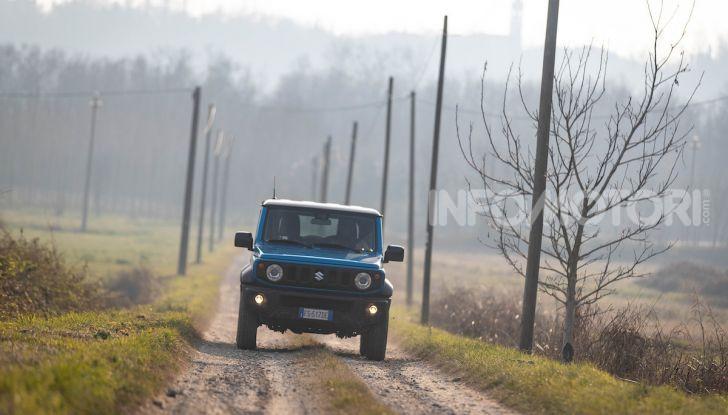 Prova Suzuki Jimny: 8 motivi per cui sarà un grande successo - Foto 36 di 43