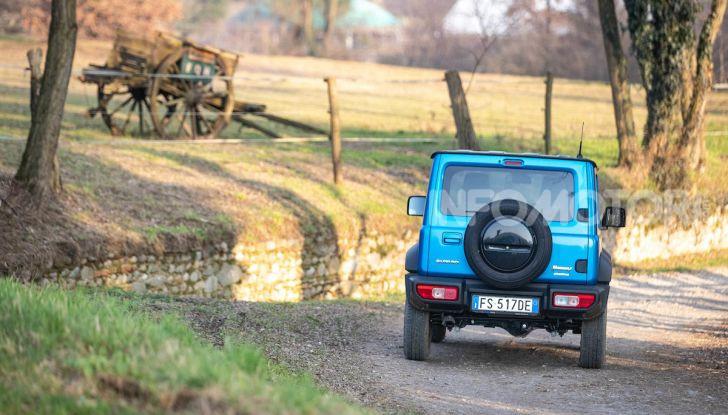 Prova Suzuki Jimny: 8 motivi per cui sarà un grande successo - Foto 38 di 43