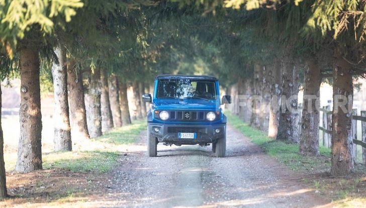 Prova Suzuki Jimny: 8 motivi per cui sarà un grande successo - Foto 39 di 43