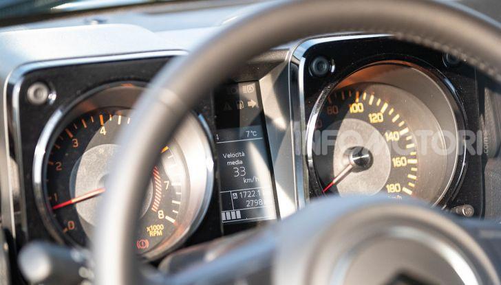 Prova Suzuki Jimny: 8 motivi per cui sarà un grande successo - Foto 11 di 43