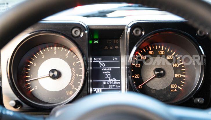 Prova Suzuki Jimny: 8 motivi per cui sarà un grande successo - Foto 17 di 43