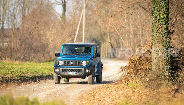 Prova Suzuki Jimny: 8 motivi per cui sarà un grande successo - Foto 4 di 43