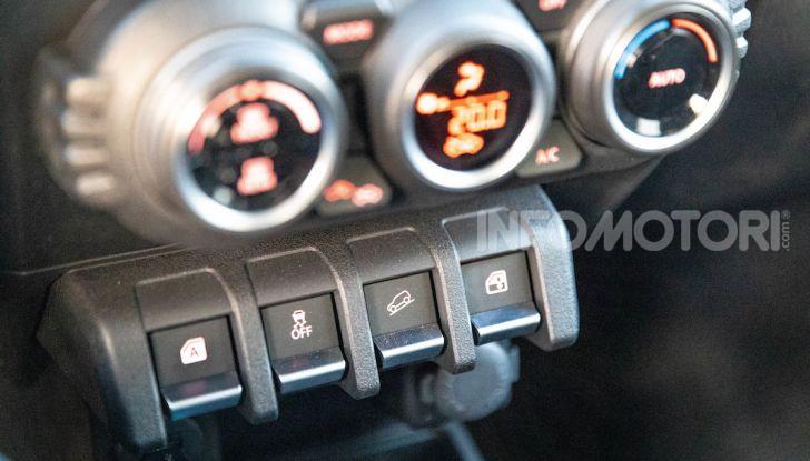 Prova Suzuki Jimny: 8 motivi per cui sarà un grande successo - Foto 19 di 43