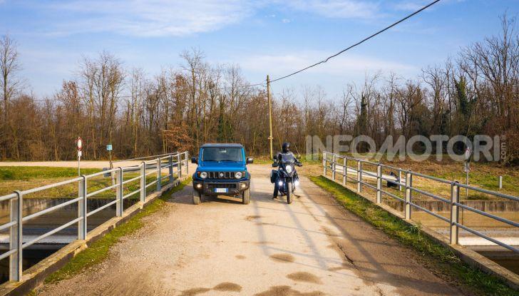 Suzuki Jimny VS V-Strom 1000 XT: il DNA dell'avventura - Foto 11 di 11