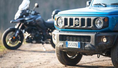 Suzuki Jimny VS V-Strom - 7
