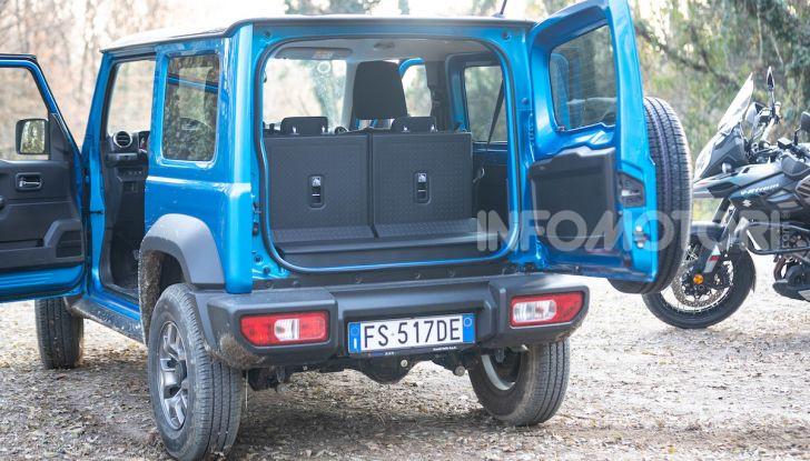 Suzuki Jimny VS V-Strom 1000 XT: il DNA dell'avventura - Foto 6 di 11