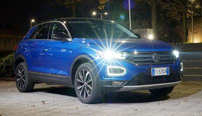 Volkswagen T-Roc 1.6 da 115CV: prova in notturna a Milano