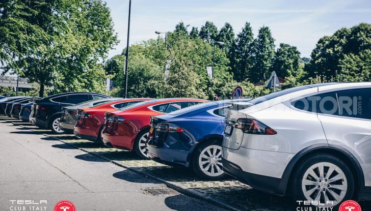 Tesla Club Italy Revolution il 19 ottobre 2019 a FICO Eataly World di Bologna - Foto 2 di 22