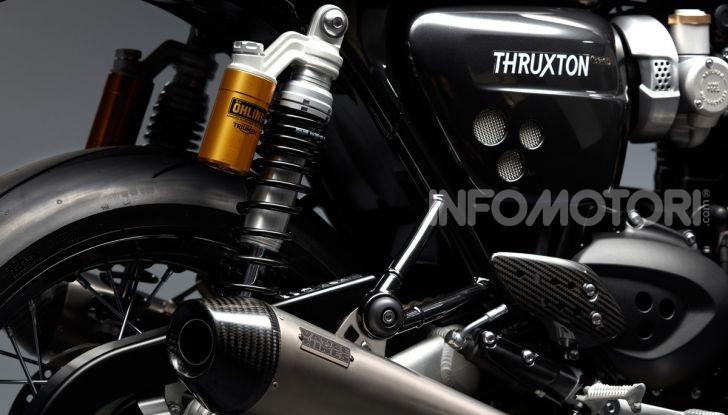 Triumph Factory Custom, il tailor made del marchio inglese - Foto 4 di 9