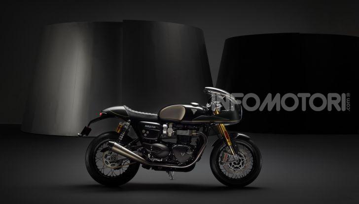 Triumph Factory Custom, il tailor made del marchio inglese - Foto 7 di 9