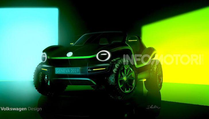 Volkswagen Dune Buggy, ritorno elettrico per il Salone di Ginevra 2019 - Foto 1 di 2