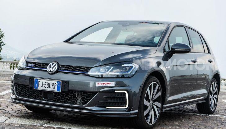 Volkswagen Golf GTE: prova su strada dell'ibrido plug-in da 204CV - Foto 2 di 33