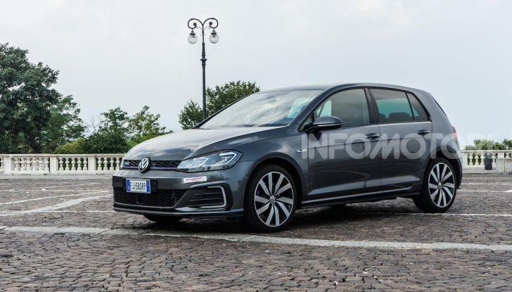 Volkswagen Golf GTE: prova su strada dell'ibrido plug-in da 204CV - Foto 3 di 33