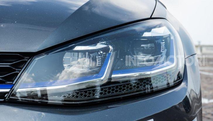 Volkswagen Golf GTE: prova su strada dell'ibrido plug-in da 204CV - Foto 4 di 33