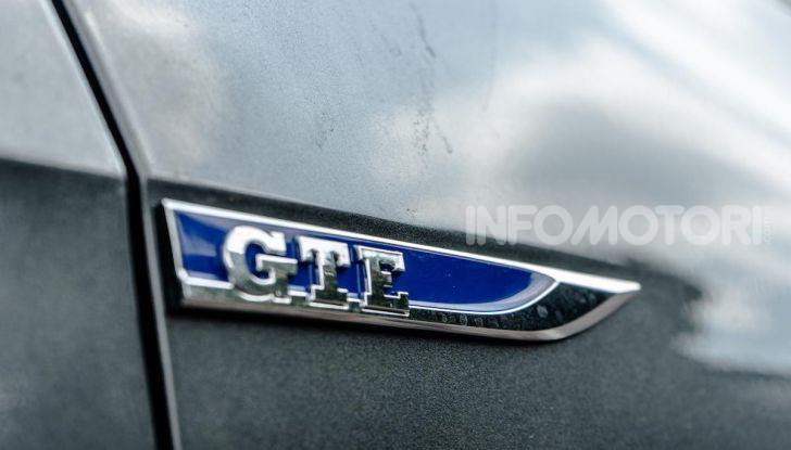 Volkswagen Golf GTE: prova su strada dell'ibrido plug-in da 204CV - Foto 7 di 33