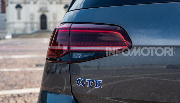 Volkswagen Golf GTE: prova su strada dell'ibrido plug-in da 204CV - Foto 8 di 33