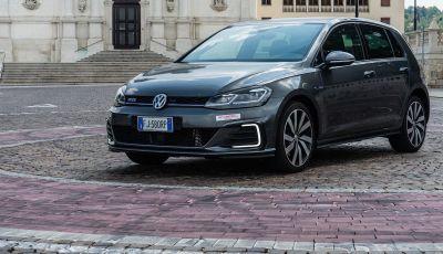 Volkswagen Golf GTE: prova su strada dell'ibrido plug-in da 204CV