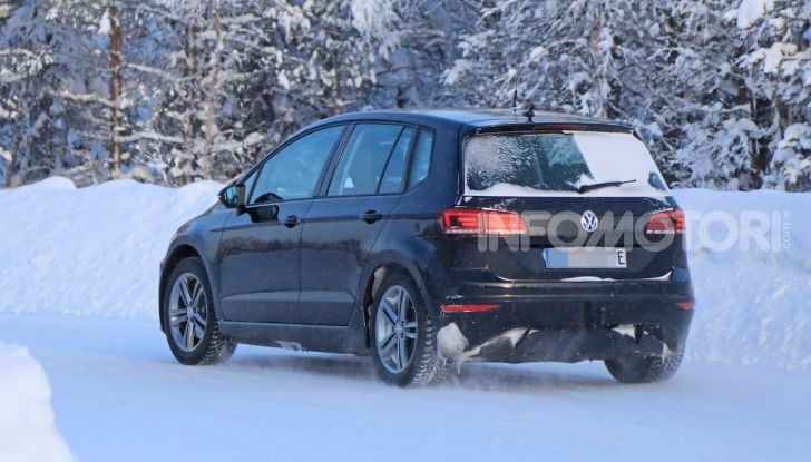 Volkswagen Golf Sportsvan 2020 elettrica, informazioni e dettagli - Foto 5 di 11