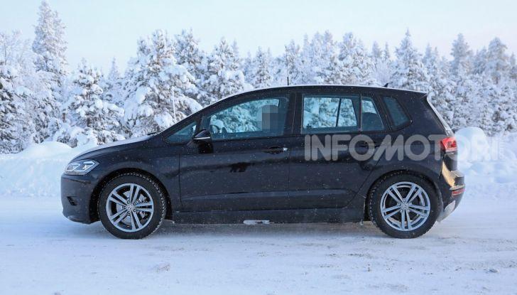 Volkswagen Golf Sportsvan 2020 elettrica, informazioni e dettagli - Foto 9 di 11