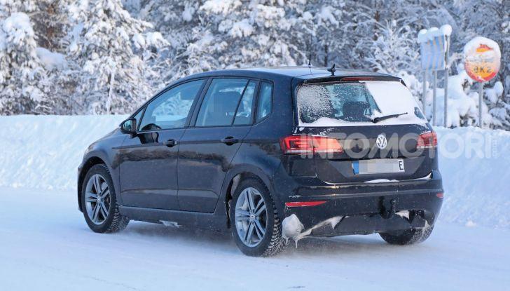 Volkswagen Golf Sportsvan 2020 elettrica, informazioni e dettagli - Foto 8 di 11