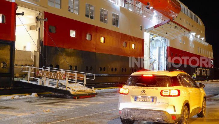 White Cruise: da Milano a Capo nord con la nuova Citroen C5 Aircross 71° N - Foto 20 di 43