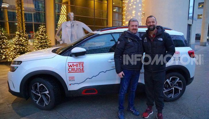 White Cruise: da Milano a Capo nord con la nuova Citroen C5 Aircross 71° N - Foto 43 di 43