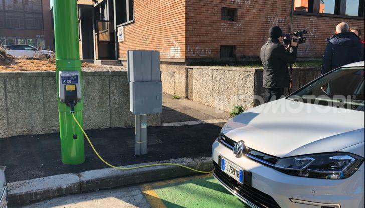 Electrify Verona, installati i primi pali in Europa per la ricarica veloce - Foto 2 di 3