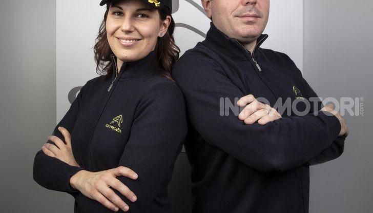 CIR 2019. Luca Rossetti e Eleonora Mori equipaggio ufficiale di Citroën Italia - Foto 2 di 2