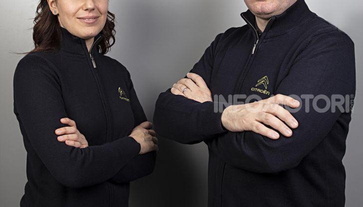 CIR 2019. Luca Rossetti e Eleonora Mori equipaggio ufficiale di Citroën Italia - Foto 1 di 2