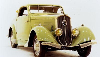 1934, Peugeot lancia la sfida all'aerodinamica