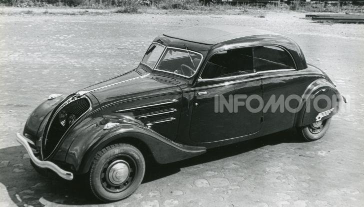 1934, Peugeot lancia la sfida all'aerodinamica - Foto 2 di 7