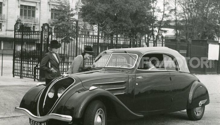 1934, Peugeot lancia la sfida all'aerodinamica - Foto 3 di 7