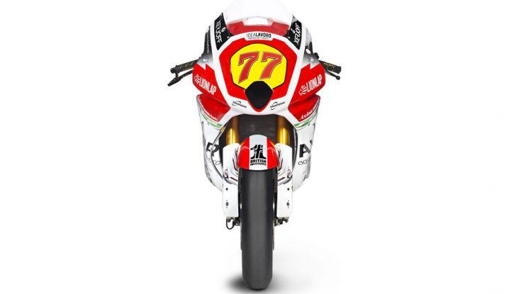 MV Agusta pronta all'esame Moto2. In sella Dominique Aegerter e Stefano Manzi - Foto 7 di 16