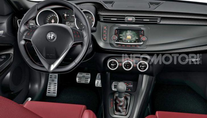 Alfa Romeo Giulietta 2019: restyling leggero in attesa del C-SUV - Foto 10 di 10