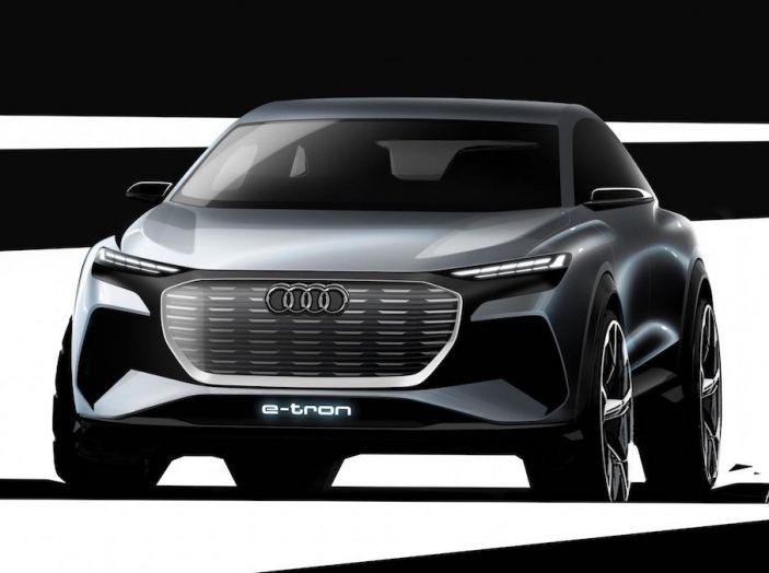Audi Q4 e-tron Concept: il crossover elettrico per Ginevra 2019