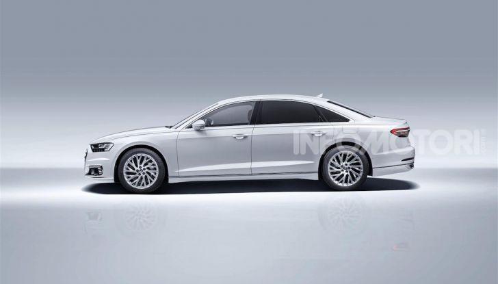 Audi A8, A7 Sportback, A6 e Q5 anche in versione ibrida plug-in - Foto 1 di 9